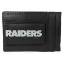 Siskiyou Buckle FCCP125 Oakland Raiders Logo Leather Cash and Cardholder