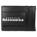 Siskiyou Buckle FCCP155 Seattle Seahawks Logo Leather Cash and Cardholder