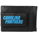 Siskiyou Buckle FCCP170 Carolina Panthers Logo Leather Cash and Cardholder