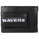 Siskiyou Buckle FCCP180 Baltimore Ravens Logo Leather Cash and Cardholder
