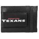 Siskiyou Buckle FCCP190 Houston Texans Logo Leather Cash and Cardholder