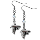 Siskiyou Buckle FCE070 Atlanta Falcons Crystal Dangle Earrings