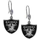 Siskiyou Buckle FCE125 Oakland Raiders Crystal Dangle Earrings