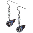Siskiyou Buckle FCE185 Tennessee Titans Crystal Dangle Earrings