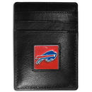 Siskiyou Buckle FCH015 Buffalo Bills Leather Money Clip/Cardholder Packaged in Gift Box