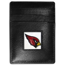 Siskiyou Buckle FCH035 Arizona Cardinals Leather Money Clip/Cardholder Packaged in Gift Box