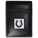 Siskiyou Buckle FCH050BX Indianapolis Colts Leather Money Clip/Cardholder