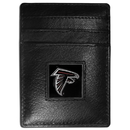 Siskiyou Buckle FCH070 Atlanta Falcons Leather Money Clip/Cardholder Packaged in Gift Box