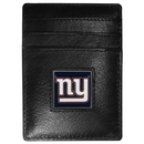 Siskiyou Buckle FCH090 New York Giants Leather Money Clip/Cardholder Packaged in Gift Box