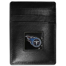 Siskiyou Buckle FCH185BX Tennessee Titans Leather Money Clip/Cardholder