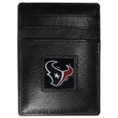 Siskiyou Buckle FCH190 Houston Texans Leather Money Clip/Cardholder Packaged in Gift Box