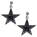 Siskiyou Buckle Dallas Cowboys Crystal Stud Earrings, FCSE055