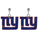 Siskiyou Buckle New York Giants Crystal Stud Earrings, FCSE090