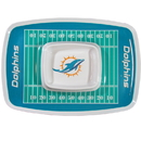 Siskiyou Buckle FCTY060 Miami Dolphins Chip and Dip Tray