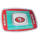 Siskiyou Buckle FCTY075 San Francisco 49ers Chip and Dip Tray