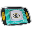 Siskiyou Buckle FCTY115 Green Bay Packers Chip and Dip Tray