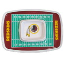 Siskiyou Buckle FCTY135 Washington Redskins Chip and Dip Tray