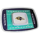 Siskiyou Buckle FCTY180 Baltimore Ravens Chip and Dip Tray