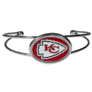 Siskiyou Buckle Kansas City Chiefs Cuff Bracelet, FCUB045