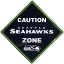 Siskiyou Buckle FCWP155 Seattle Seahawks Caution Wall Sign Plaque