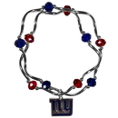 Siskiyou Buckle New York Giants Crystal Bead Bracelet, FCYB090
