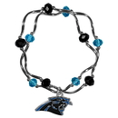 Siskiyou Buckle Carolina Panthers Crystal Bead Bracelet, FCYB170