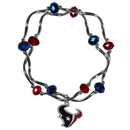 Siskiyou Buckle Houston Texans Crystal Bead Bracelet, FCYB190