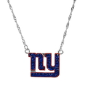 Siskiyou Buckle New York Giants Crystal Logo Necklace, FCYN090