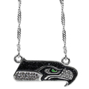 Siskiyou Buckle Seattle Seahawks Crystal Logo Necklace, FCYN155