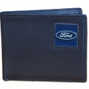 Siskiyou Buckle FDBI1 Ford Genuine Leather Bi-fold Wallet