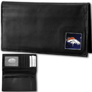 Siskiyou Buckle FDCK020BX Denver Broncos Deluxe Leather Checkbook Cover