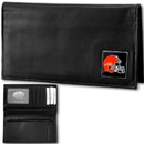 Siskiyou Buckle FDCK025BX Cleveland Browns Deluxe Leather Checkbook Cover