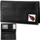Siskiyou Buckle FDCK035BX Arizona Cardinals Deluxe Leather Checkbook Cover