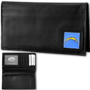 Siskiyou Buckle FDCK040BX San Diego Chargers Deluxe Leather Checkbook Cover