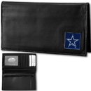 Siskiyou Buckle FDCK055BX Dallas Cowboys Deluxe Leather Checkbook Cover