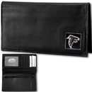 Siskiyou Buckle FDCK070BX Atlanta Falcons Deluxe Leather Checkbook Cover
