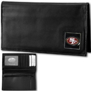 Siskiyou Buckle FDCK075BX San Francisco 49ers Deluxe Leather Checkbook Cover