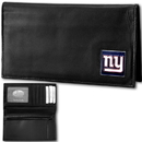 Siskiyou Buckle FDCK090BX New York Giants Deluxe Leather Checkbook Cover