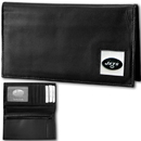 Siskiyou Buckle FDCK100BX New York Jets Deluxe Leather Checkbook Cover