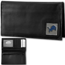 Siskiyou Buckle FDCK105BX Detroit Lions Deluxe Leather Checkbook Cover