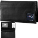 Siskiyou Buckle FDCK120BX New England Patriots Deluxe Leather Checkbook Cover