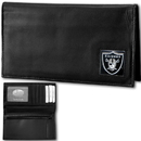 Siskiyou Buckle FDCK125BX Oakland Raiders Deluxe Leather Checkbook Cover