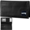 Siskiyou Buckle FDCK155BX Seattle Seahawks Deluxe Leather Checkbook Cover