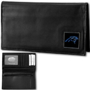 Siskiyou Buckle FDCK170BX Carolina Panthers Deluxe Leather Checkbook Cover