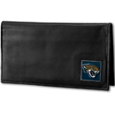 Siskiyou Buckle FDCK175BX Jacksonville Jaguars Deluxe Leather Checkbook Cover