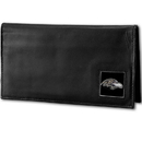 Siskiyou Buckle FDCK180BX Baltimore Ravens Deluxe Leather Checkbook Cover