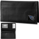 Siskiyou Buckle FDCK185BX Tennessee Titans Deluxe Leather Checkbook Cover