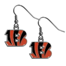 Siskiyou Buckle FDE010 Cincinnati Bengals Dangle Earrings