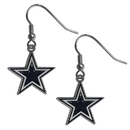 Siskiyou Buckle FDE055 Dallas Cowboys Dangle Earrings