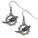 Siskiyou Buckle FDE060 Miami Dolphins Dangle Earrings